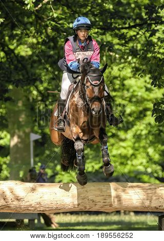 Houghton International Horse Trials Hannah Bate Riding Call Me Bon Jovi