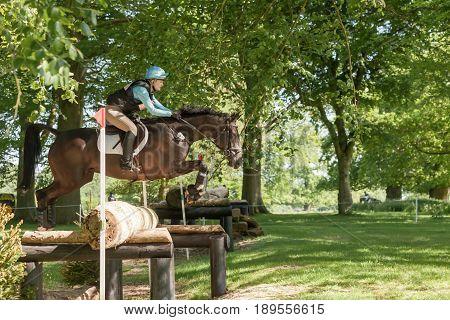 Houghton International Horse Trials Chloe Lynn Riding Calzini