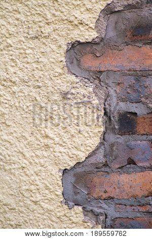 Brickwork what lies beneath the old render