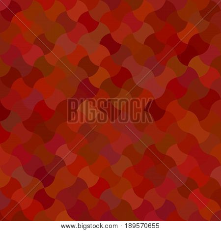 Maroon mosaic pattern background design - vector illustration