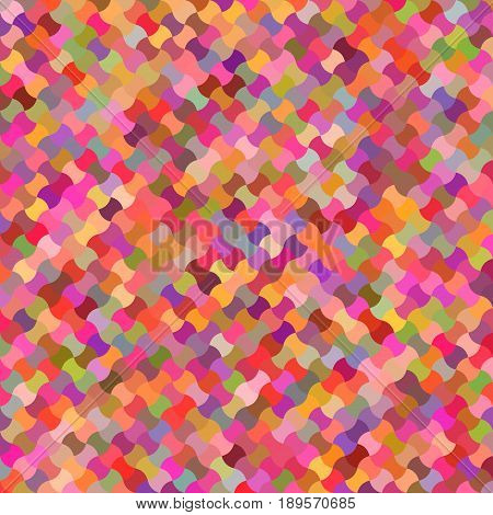 Happy color abstract puzzle pattern background design