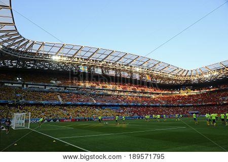 Allianz Riviera Stadium In Nice, France