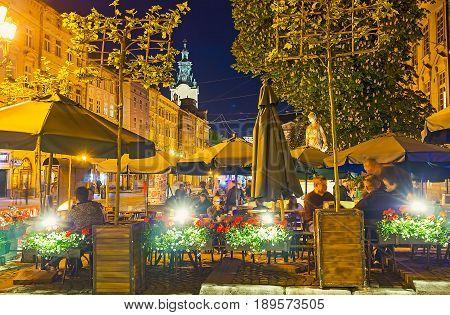 Cafe In Market Square