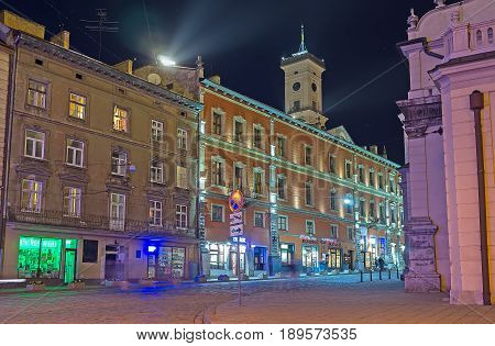 The Streets Of Evening Lvov