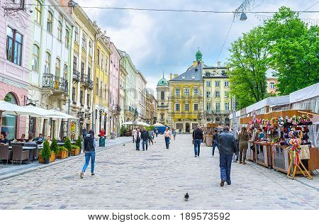 The Center Of Lvov