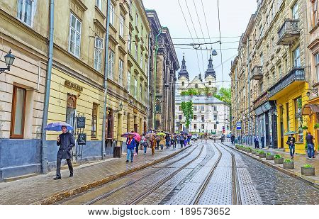 The Wet Weather In Lvov
