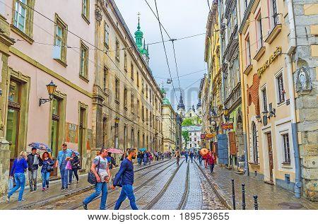 Walk In Lvov