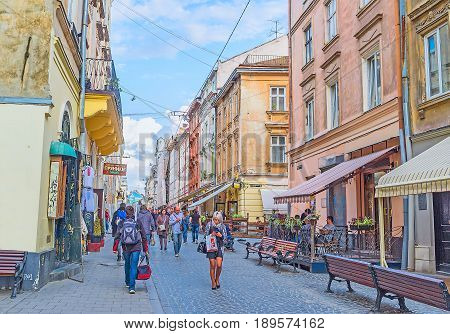 The Crowded Streets Of Lvov