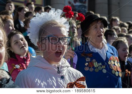 Patriotic Procession Immortal Regiment
