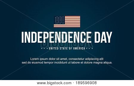 Background style independence day vector art collection stock
