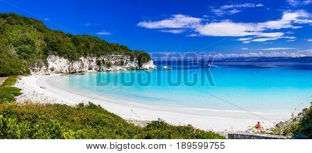 beautiful Ionian islands - Anti Paxos with turquoise beaches. Greece