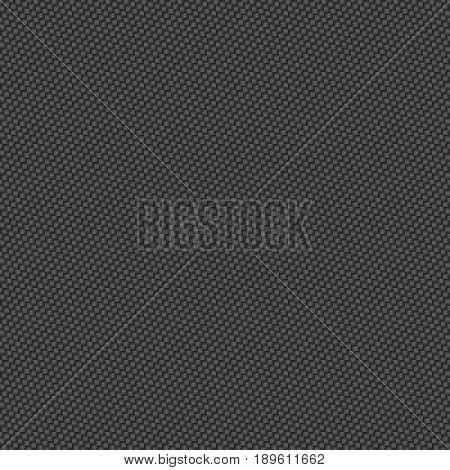 vector illustration of black carbon fiber seamless background