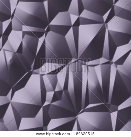 Grey modern crumpled lines 3d optic drapery seamless texture background
