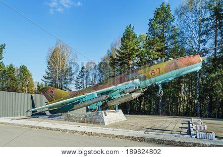 Supersonic Fighter-bomber Su-17 M2