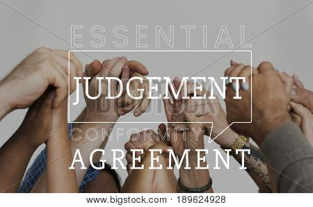 Judgment agreement equal fair rights