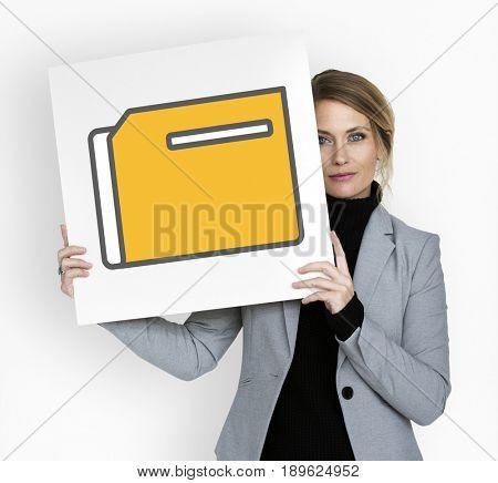 Folder Data Information File Organize Graphic