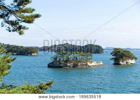 Matsushima Islands in japan