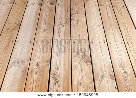Natural New Wooden Floor Background