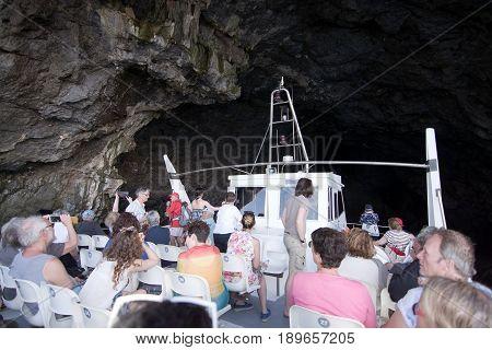 Tour Boat Cave Mallorca