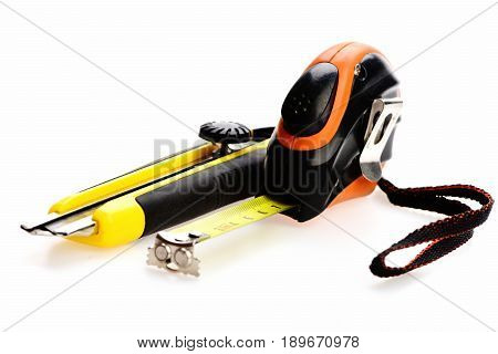 Tools Isolated On White Background