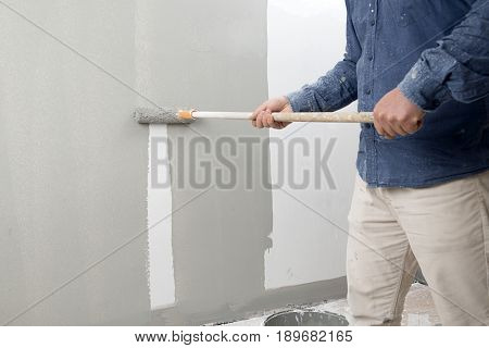 Manual Worker Painting