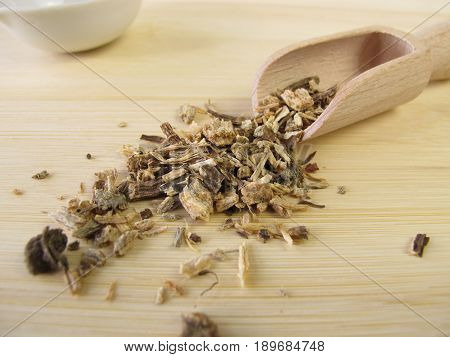 Dried echinacea roots, Echinaceae angustifoliae radix, for alternative medicine