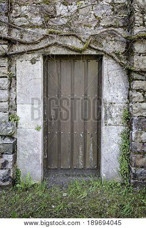 Old Rural Door