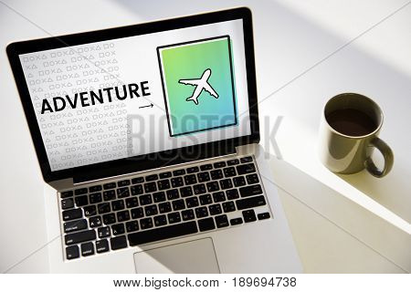 Airplane Icon Arrow Symbol Travel