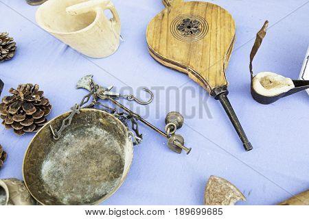 Bellows And Ancient Balance
