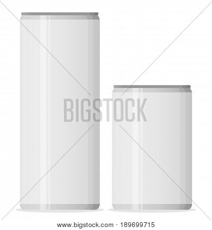 Aluminum cans for beer and soft drinks or energy. Packaging 500 and 330 ml.