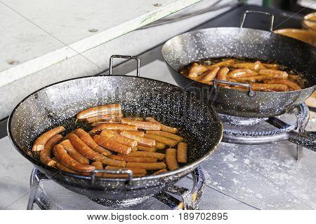 Spanish Red Sausage