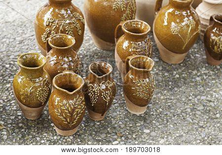 Vases Clay Craft