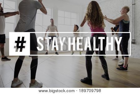Workout Well being Healthcare Fitness Concept