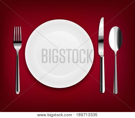 Plate With Spoon