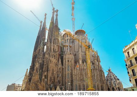 Cathedral Sagrada Familia