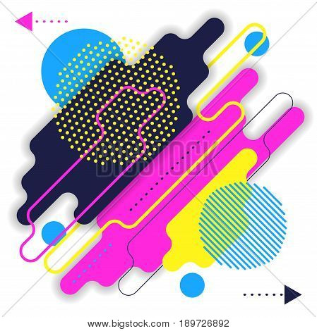 Abstract modern background with rounded corners eps 10