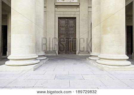 Input Church With Pillars