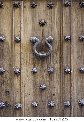 Ancient Medieval Wooden Door