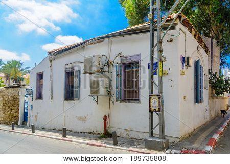 Chelouche Synagogue In The Neve Tzedek Neighborhood, Tel-aviv