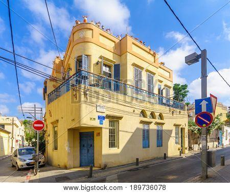 Houses In The Historic Neve Tzedek Neighborhood, Tel-aviv