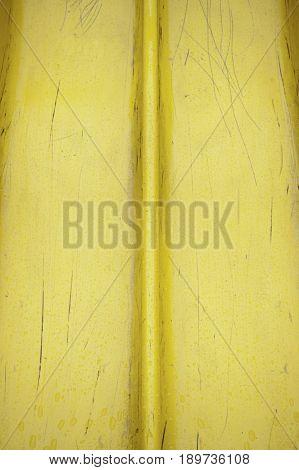 Yellow Plastic Spoiled