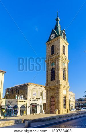Jaffa Clock Tower, Now Part Of Tel-aviv-yafo
