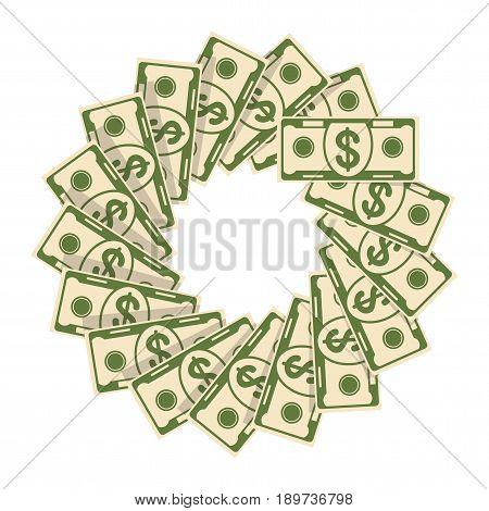 Spread Of Cash Flower