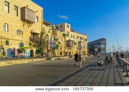 Old Port Of Jaffa, Now Part Of Tel-aviv-yafo