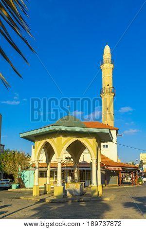 Mahmadiyya Mosque In Jaffa, Now Part Of Tel-aviv-yafo