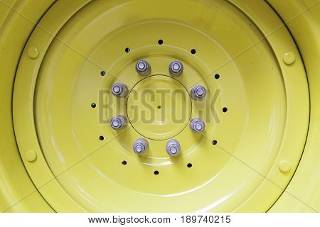 Yellow Metal Rim