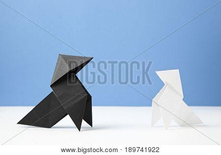 Couple Paper Birds
