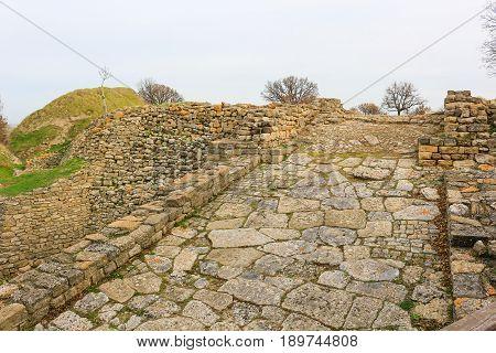 Ruins In Troy Turkey
