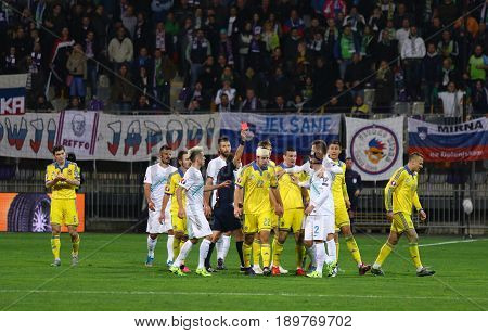 Uefa Euro 2016 Play-off For Final: Slovenia V Ukraine