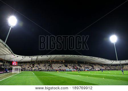 Stadion Ljudski Vrt In Maribor, Slovenia